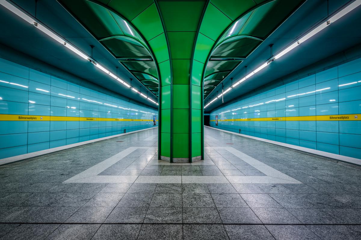 Underground Station Boehmerwaldplatz