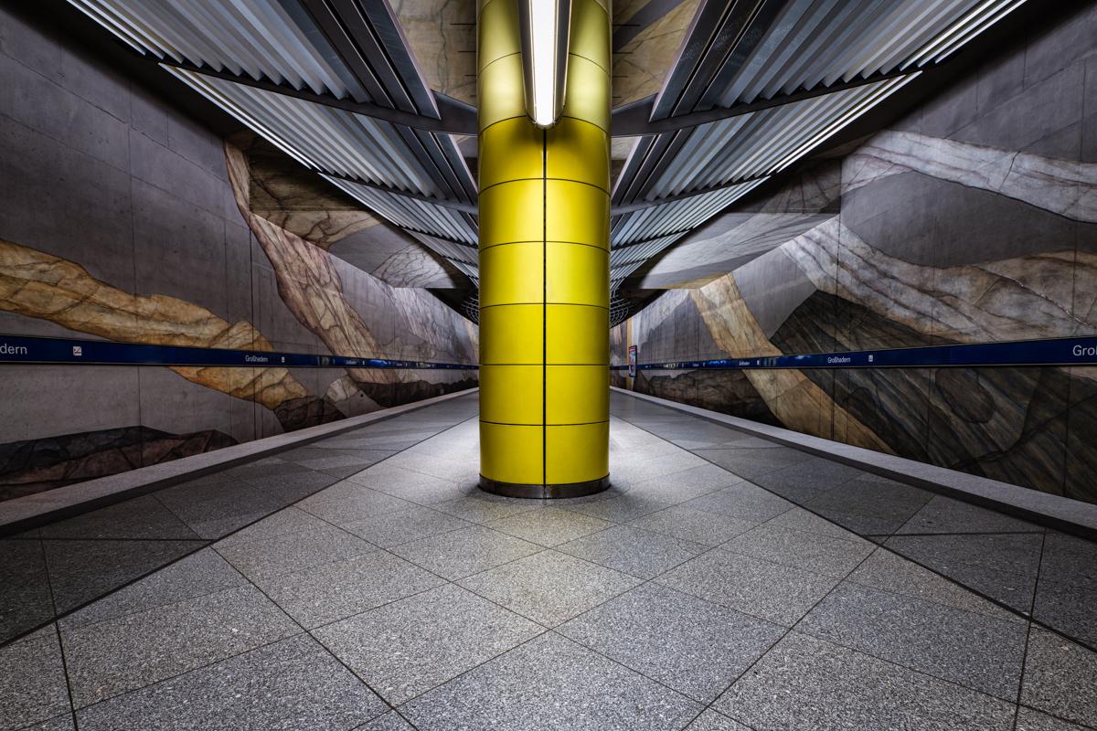 Underground Station Grosshadern