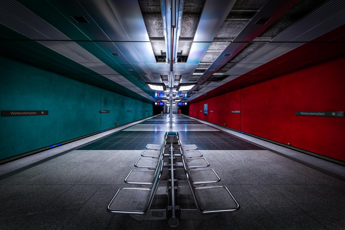 Underground Station Wettersteinplatz