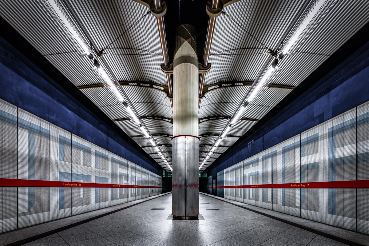 Underground Station Frankfurter Ring