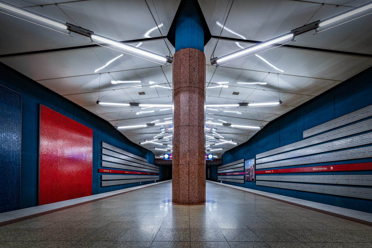 Underground Station Milbertshofen