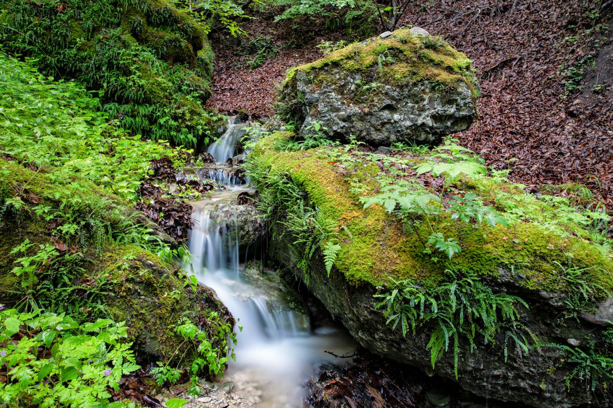Little water cascade