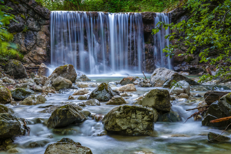 Schleifmuehlklamm Waterfall