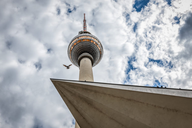 The Berlin TV Tower