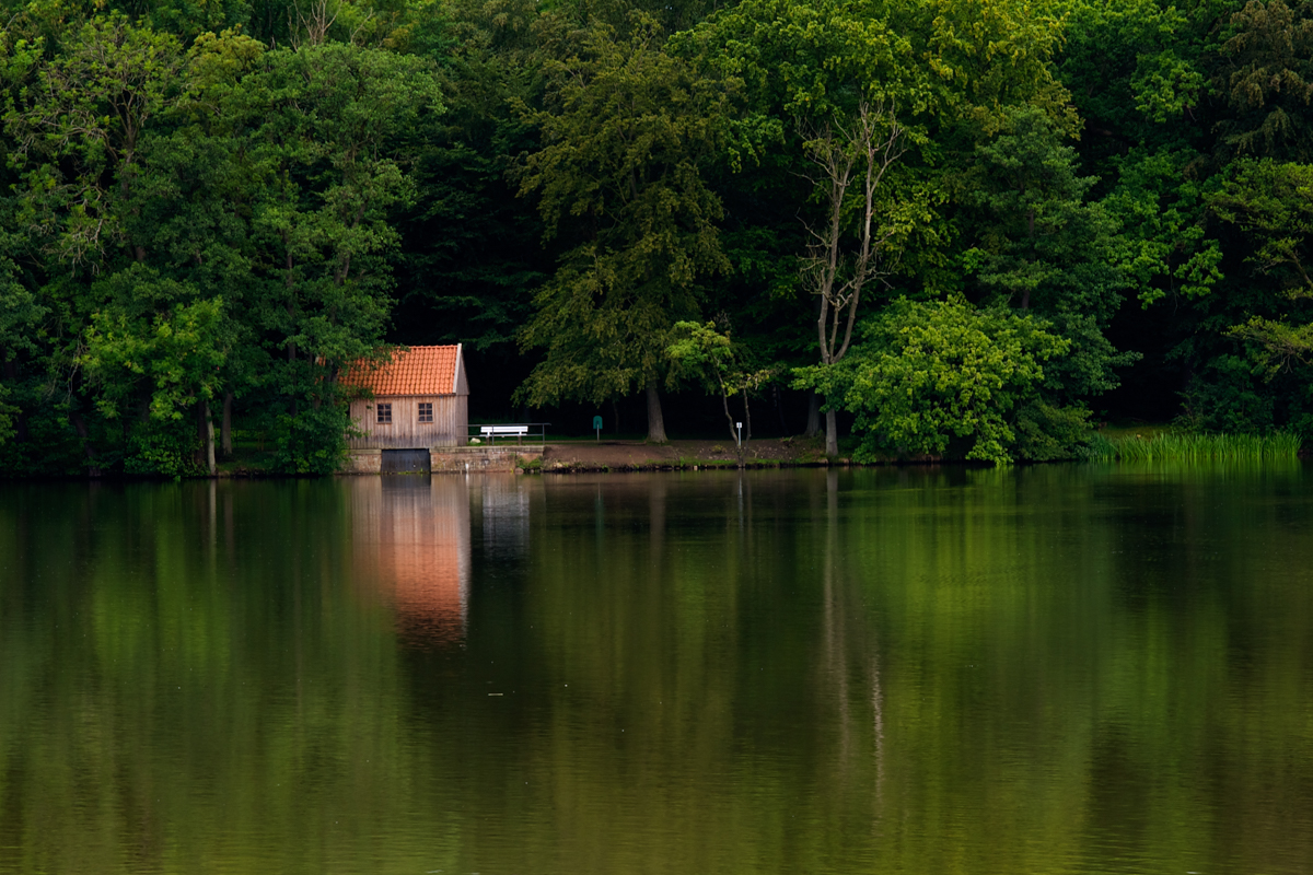 Baltic Coast – Enjoying Calmness at the lake