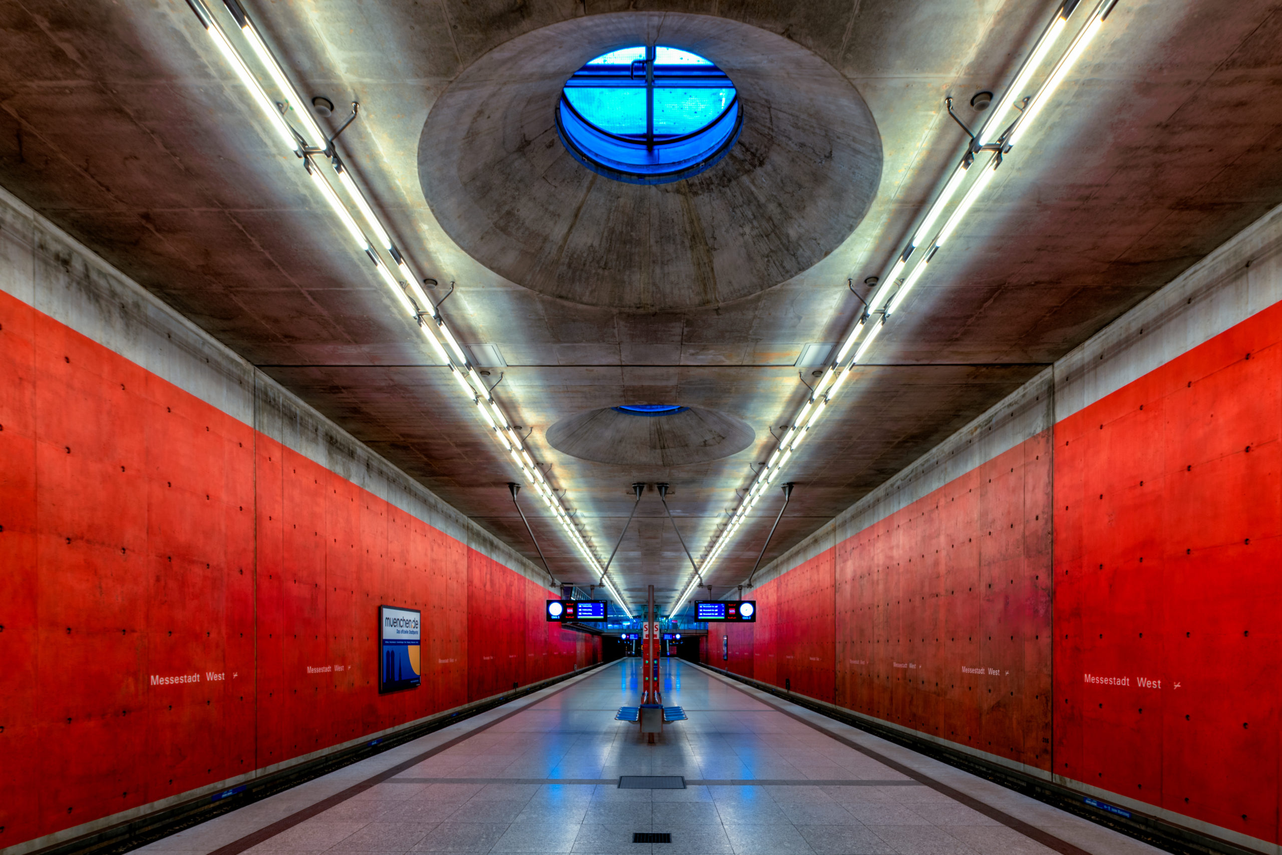 Underground Station Messestadt West