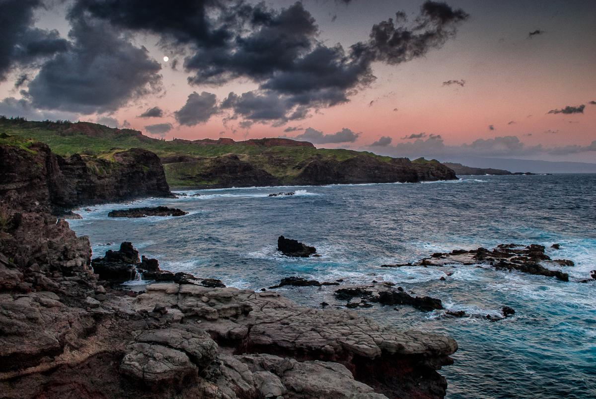 Seeing the Moon on Maui