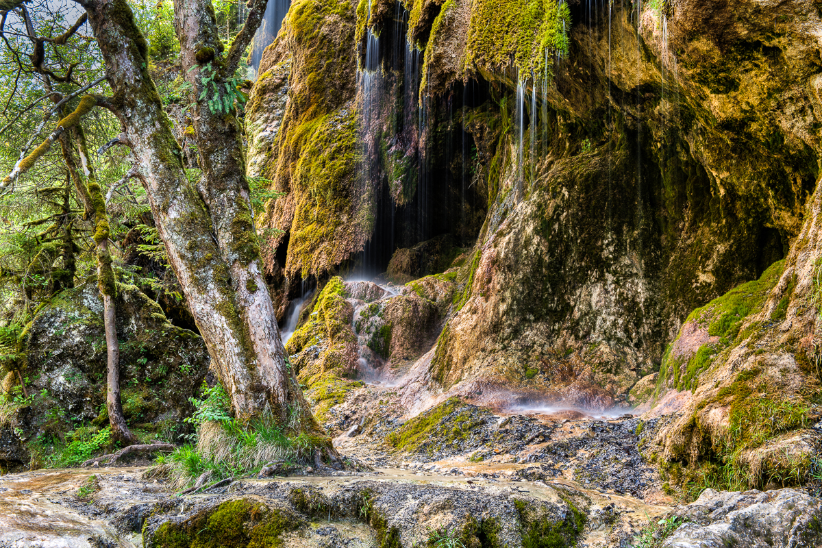 Veil Falls in the Ammer Valley